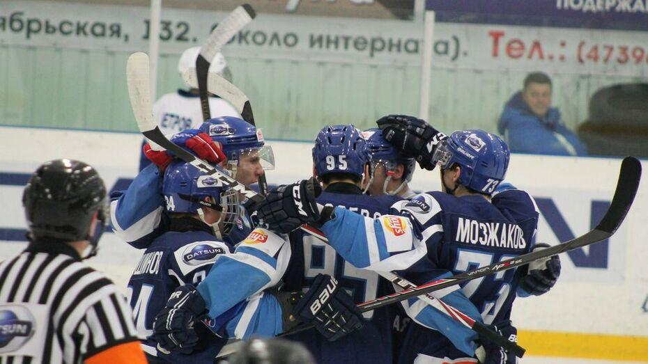 Хоккеисты «Россоши» обыграли конкурента за лидерство «Дмитров»