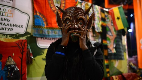 Китайская водка и африканские маски. Что увидели воронежцы на межнациональном фестивале