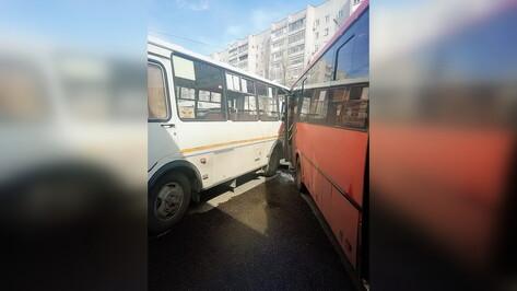 Следователи начали проверку после столкновения двух маршруток в Воронеже