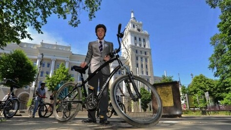 Французский Университет Лилля стал партнером велосипедистов Воронежа