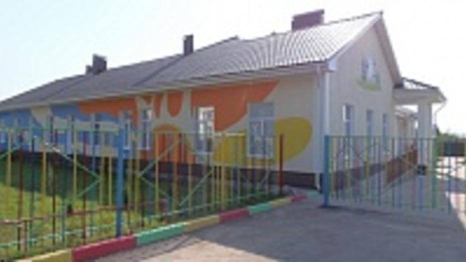 В Верхнем Мамоне после реконструкции открылся детский сад № 2