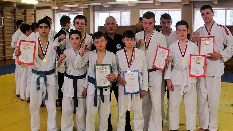 Острогожские бойцы стали призерами межрегионального турнира