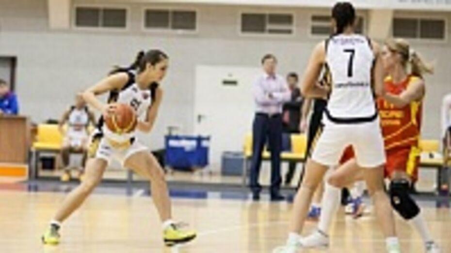 Баскетболистки «Воронеж-СКИФ» заняли 1 место в турнирной таблице Суперлиги первенства России
