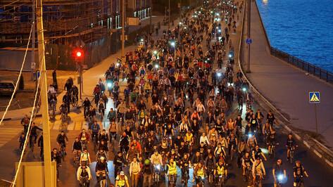Маршрут велоночи пройдет по центральным улицам Воронежа