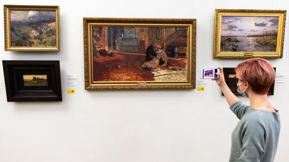 Картина Репина из воронежского музея отправится в «командировку» в Москву
