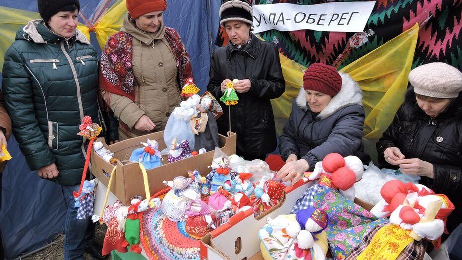 Кантемировские мастерицы сделали куклы-обереги на Масленицу