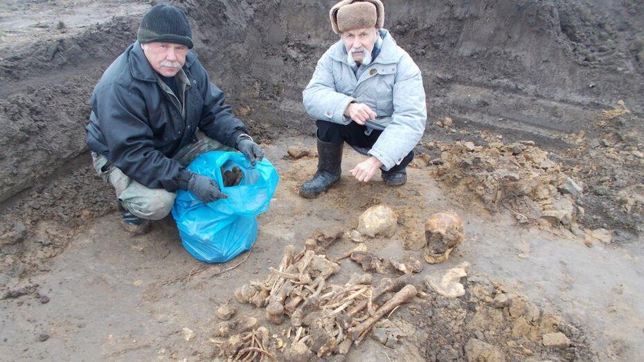 В Воронежской области обнаружили останки 4 итальянских солдат
