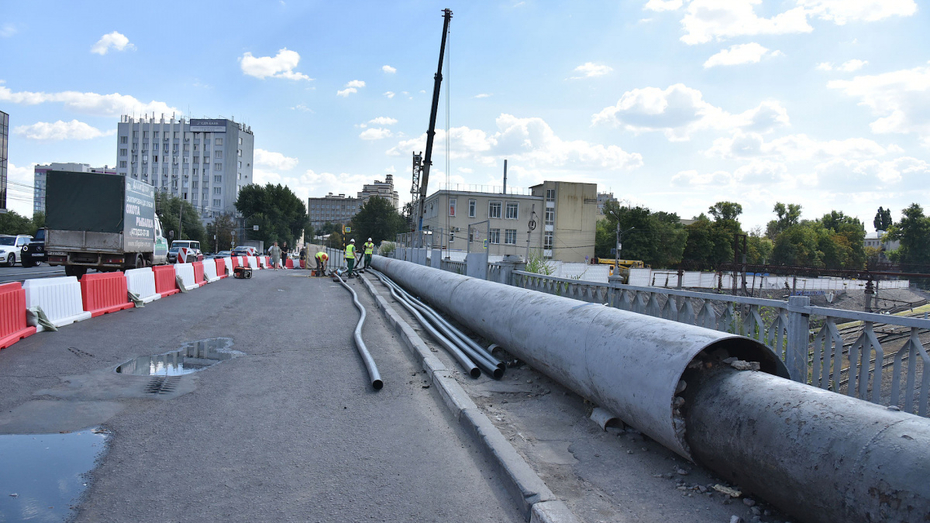 Путепровод у «Работницы» в Воронеже перекроют дважды за день