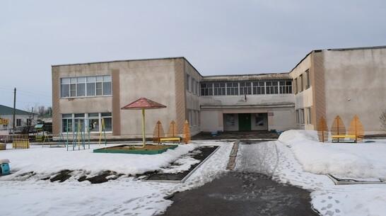 Систему отопления полностью заменили в детском саду грибановского села Верхний Карачан