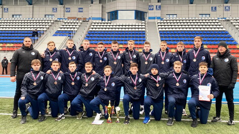 Еще одна команда академии воронежского «Факела» успешно завершила турнир
