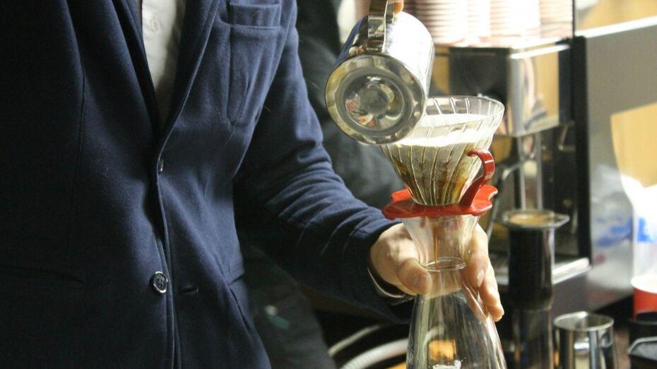 Воронежцев научили превращать кофе в искусство