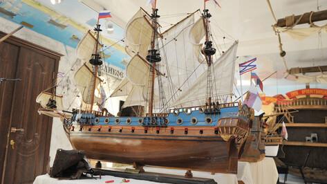 В Воронежской области установят знаки, посвященные строительству флота в Петровскую эпоху