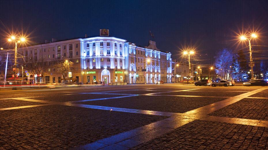 Неправильная установка архитектурной подсветки стоила бюджету Воронежа 23,5 млн рублей