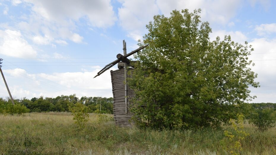 В Воронежской области старожил спас от хулиганов ветряную мельницу XIX века