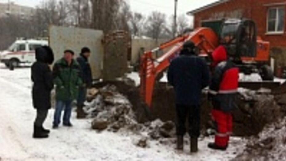 В Центральном районе Воронежа из-за порыва трубы отключена котельная