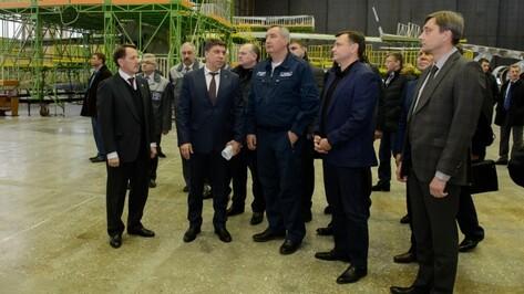 Дмитрий Рогозин в Воронеже предложил украинским авиаконструкторам работу в России