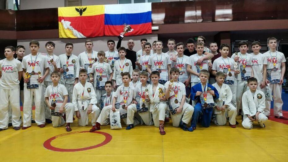 Борисоглебские рукопашники завоевали 12 золотых медалей на областном первенстве