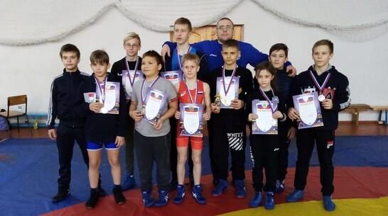 Эртильский борец получил «золото» открытого районного первенства в Липецкой области