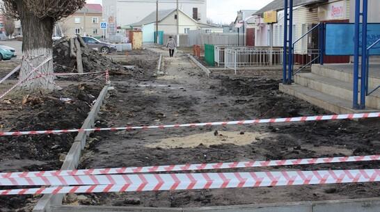 Плиточный тротуар за 2,6 млн рублей появится в Таловой