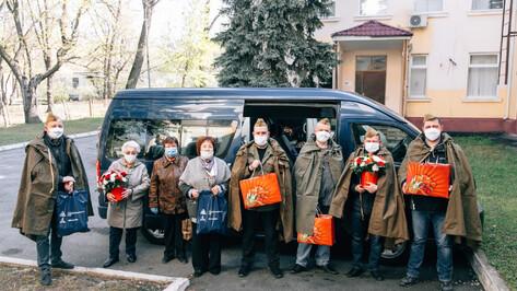 Сотрудники Нововоронежской АЭС поздравили ветеранов в канун 75-летия Победы