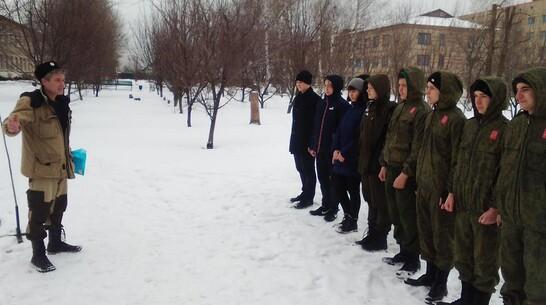 Верхнемамонские кадеты выиграли в военно-спортивной игре «Казачья вьюга – 2021»