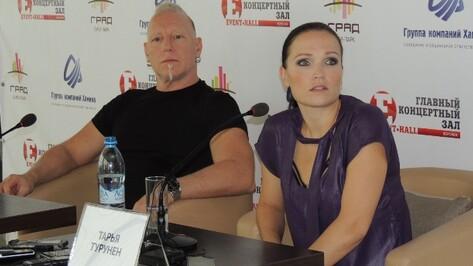 Тарья Турунен и Майк Террана  пришли в восторг от Воронежского океанариума