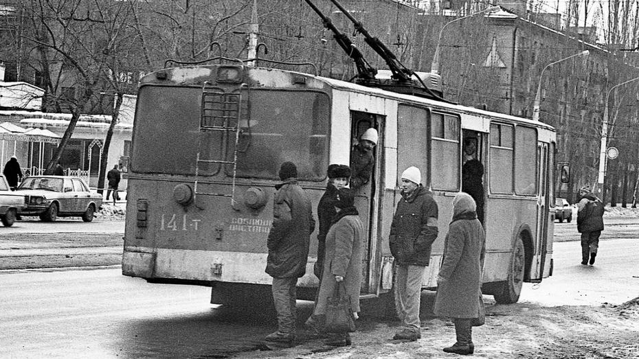 Фото РИА «Воронеж»: как платили за проезд в 90-е