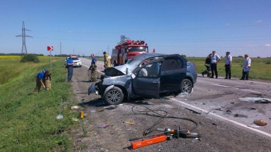 В Воронежской области возбудили уголовное дело после ДТП с погибшей и 3 пострадавшими