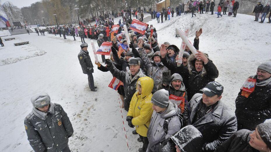 Организаторы эстафеты: «Мы рады, как Воронеж встретил олимпийский огонь»