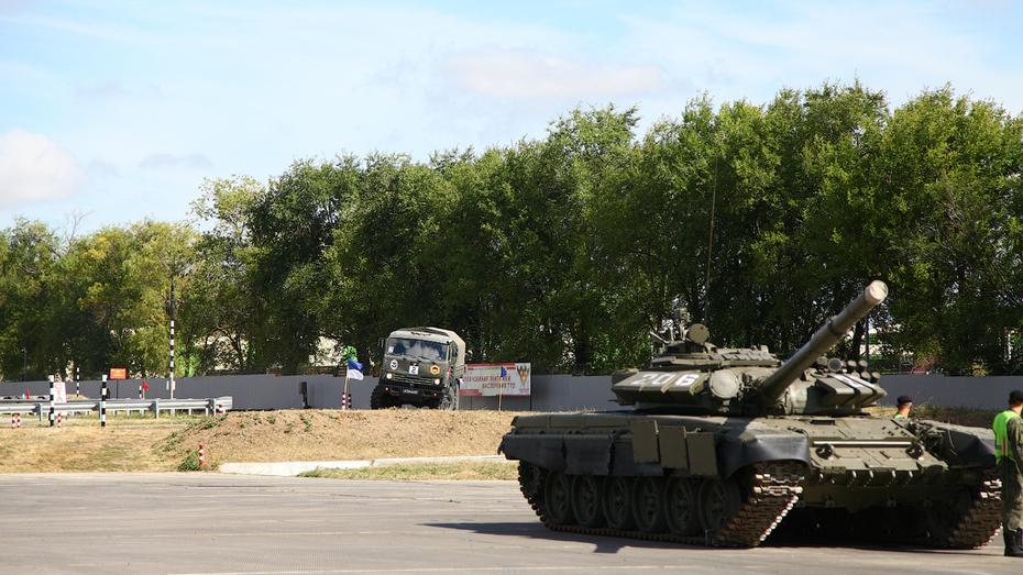 В Воронежской области завершились Армейские международные игры