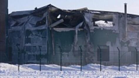 Установлены причины пожара на мясокомбинате «Верхнехавский»