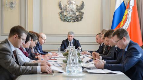 Губернатор поручил представить предложения по ОЭЗ в Воронежской области в течение недели