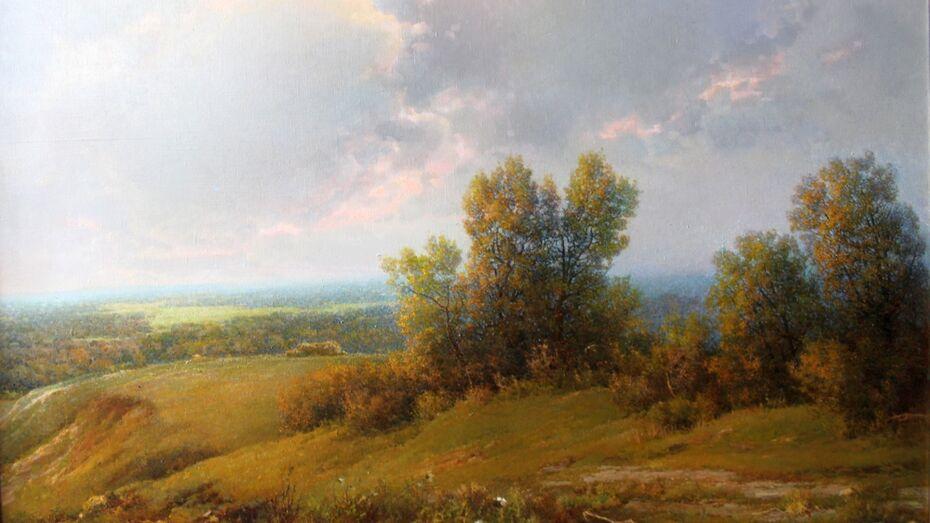 В Лискинской библиотеке открылась выставка одной картины