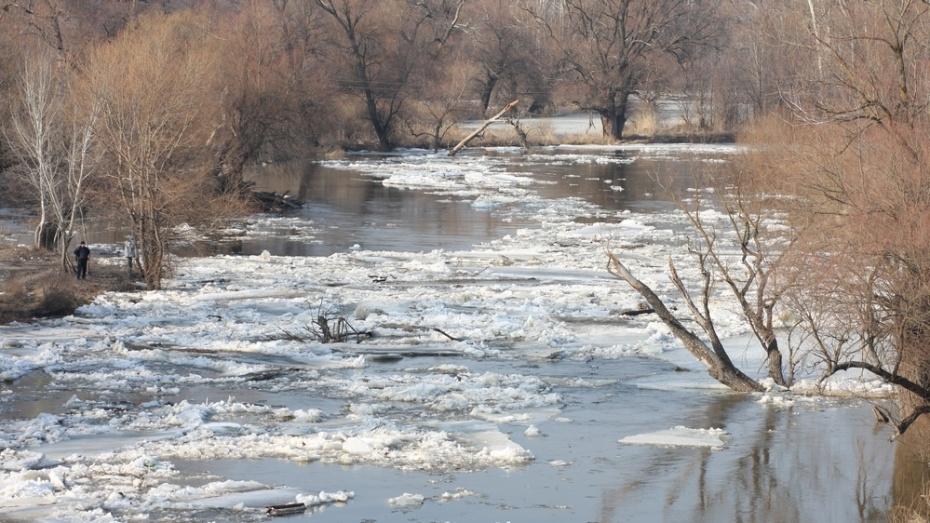 В Воронежской области под воду ушел третий мост