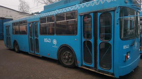 Власти Воронежа не нашли перевозчика для 15 троллейбусов из Москвы