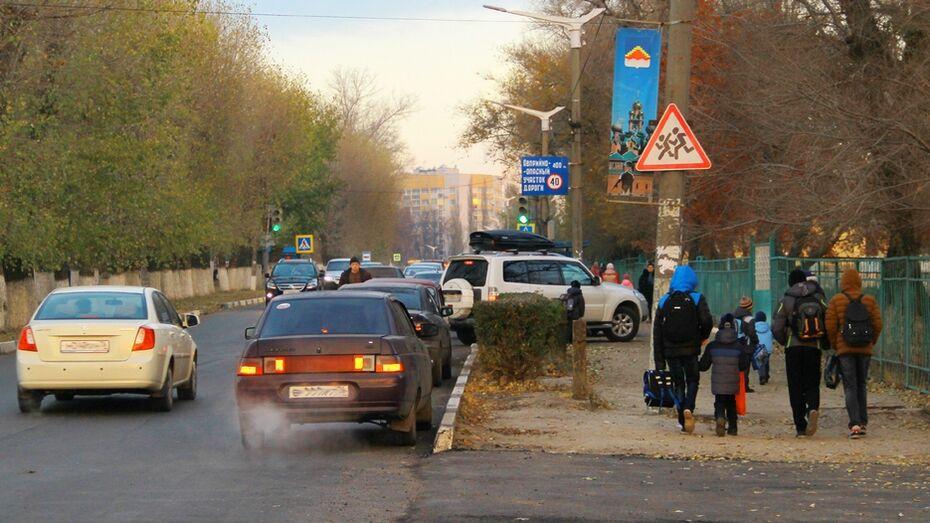 В Семилуках для школы №2 оборудуют парковку
