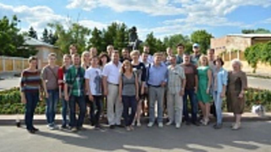 На пленэр в Острогожск приехали студенты художественных училищ России