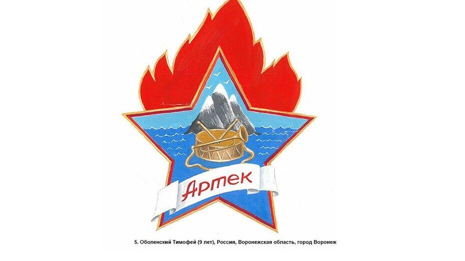 Воронежский школьник предложил «Артеку» новый логотип