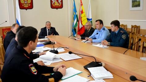 В Россошанском районе усилят меры безопасности