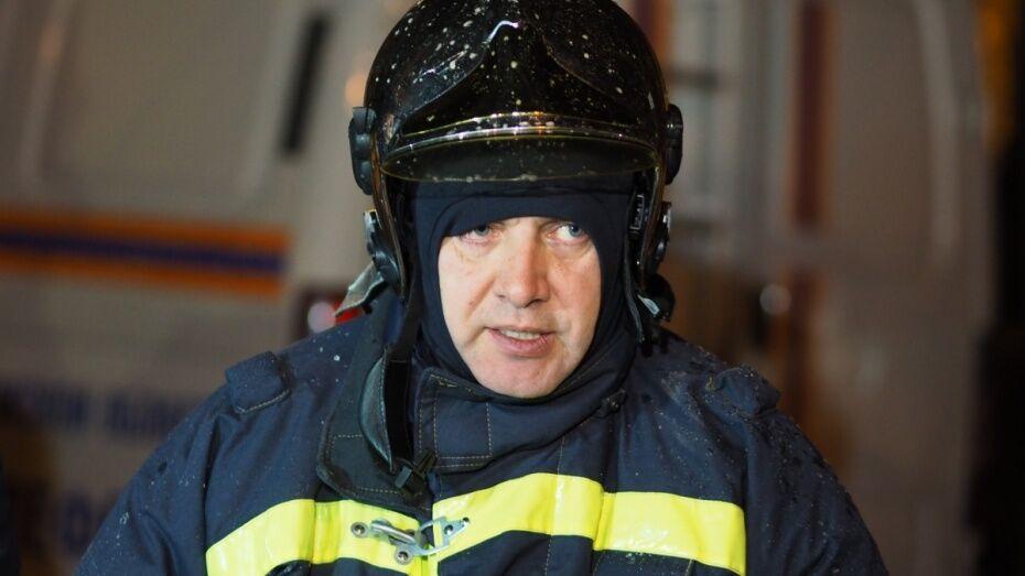 Главного воронежского спасателя Игоря Кобзева перевели в Москву