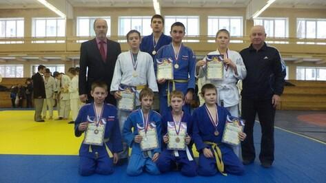 Поворинские дзюдоисты завоевали 8 медалей на первенстве школы олимпийского резерва