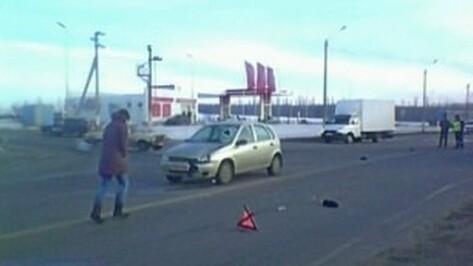 На выезде из Воронежа сбили мужчину