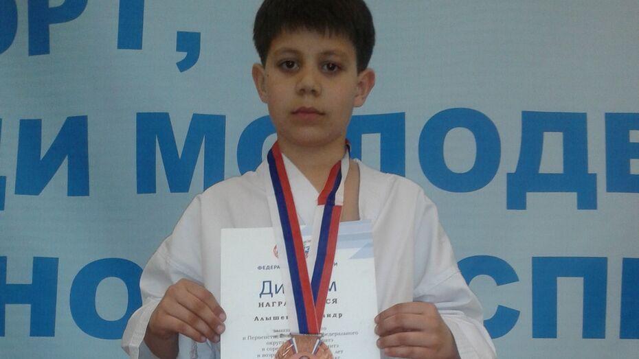 Поворинский каратист завоевал бронзу на первенстве ЦФО