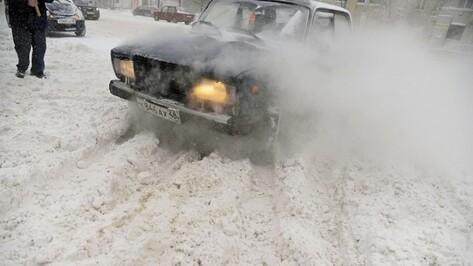 Автоинспекция попросила воронежских водителей об осторожности на дороге