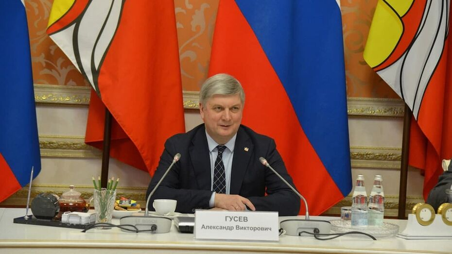 Губернатор Александр Гусев поздравил РИА «Воронеж» с 8-летием