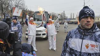 В день эстафеты олимпийского огня в Воронеже произошло 75 ДТП