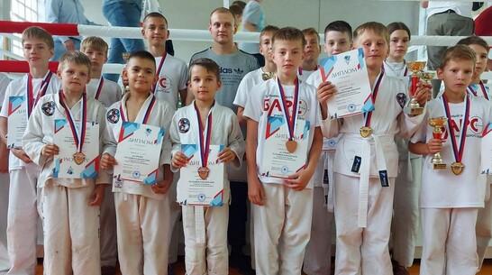 Борисоглебские рукопашники привезли 4 «золота» с межрегионального турнира