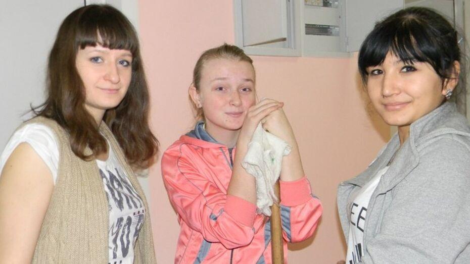Волонтеры устроили генеральную уборку в детском хосписе