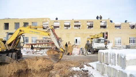 В богучарском селе возобновили строительство школы на 260 мест