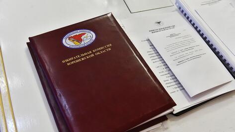 Новые территориальные избиркомы сформировали в 6 районах Воронежской области